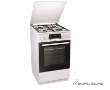 Gorenje Cooker K5341WH Hob type Gas, Oven type Electric..