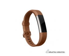 Fitbit Alta HR, Accessory Band, Leather, Brown - Large ..