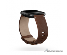 Fitbit Versa Accessory Leather Band Cognac - Large 509366