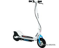 Razor E300 Electric Scooter - Whte/Blue 509420