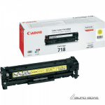 Canon cartridge 718, yellow, corporate