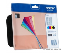 Brother LC223 Value Pack - Black, yellow, cyan, magenta