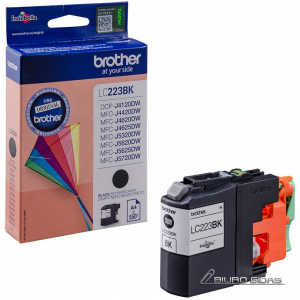 Brother LC223BK ink cartridge, black