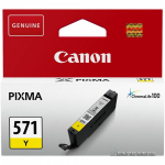 Canon CLI-571Y ink cartridge, yellow