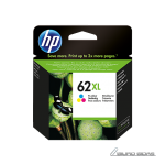 HP 62XL ink cartridge, tricolor