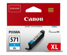 Canon CLI-571XLC ink cartridge, cyan