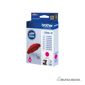 Brother LC225XLM ink cartridge, magenta, high capacity