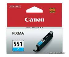 Canon CLI-551C ink cartridge, cyan