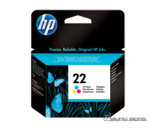 HP C9352AE ink cartridge No. 22, tricolor