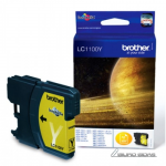 Brother LC1100Y ink cartridge, yellow