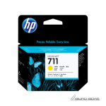 HP CZ136A ink cartridge No. 711, yellow, 3 pack