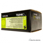 Lexmark 702HK cartridge, black, high capacity