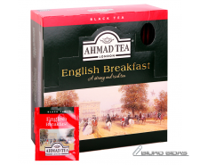 Arbata AHMAD Alu ENGLISH Breakfast, 100 x 2 g arbatos p..