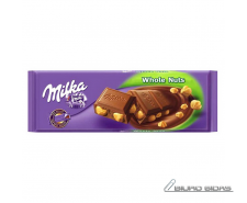 Šokoladas Milka Whole Nuts 250 g.