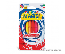 Flomasteriai CARIOCA Magic Erasable, 8 vnt./pak.