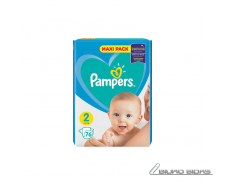 Sauskelnės PAMPERS New Baby, Value Pack Plus, 2 dydis, ..