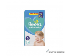 Sauskelnės PAMPERS Active Baby-Dry, Value Pack Plus, 5 ..