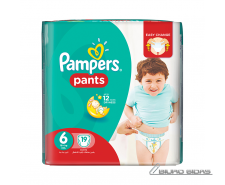 Sauskelnės PAMPERS Pants, CP, 6 dydis, 15+ kg, 19 vn