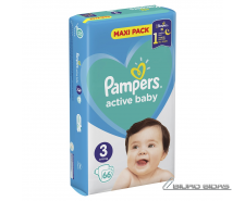 Sauskelnės PAMPERS Active Baby-Dry, Value Pack Plus, 3 ..
