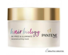 Kaukė PANTENE BIOLOGY Defrizz & Illuminate, 160 ml